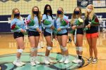 Varsity Volleyball beats Bluffton 3 – 0