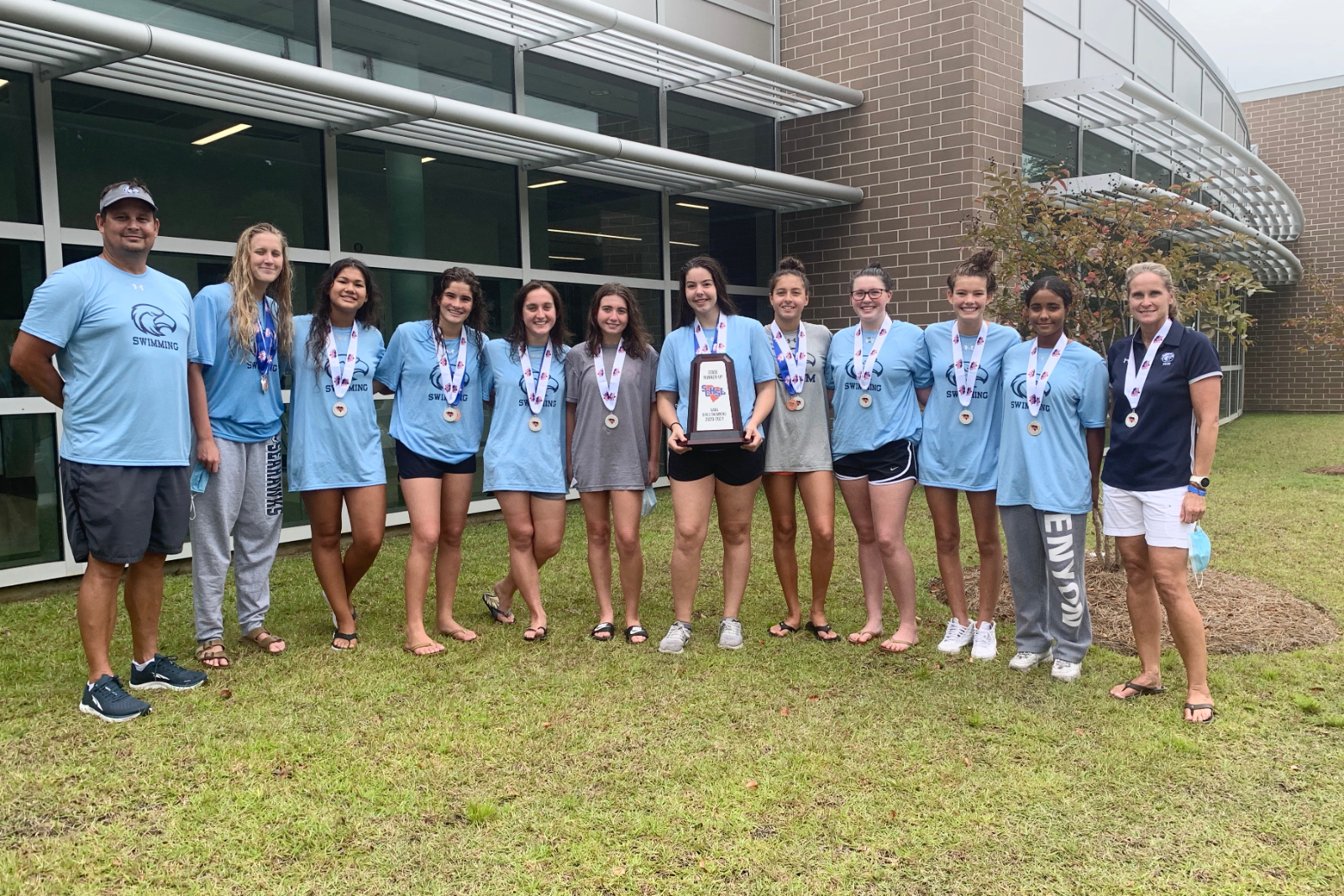 Girls Swim capture 2nd Place at the SCHSL AAAA State Championship
