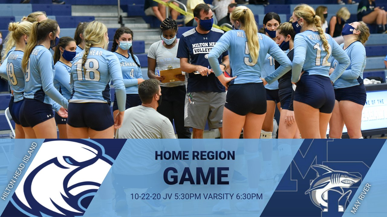 Ticket/Fan Information for Volleyball Home Game vs May River 10/22/20