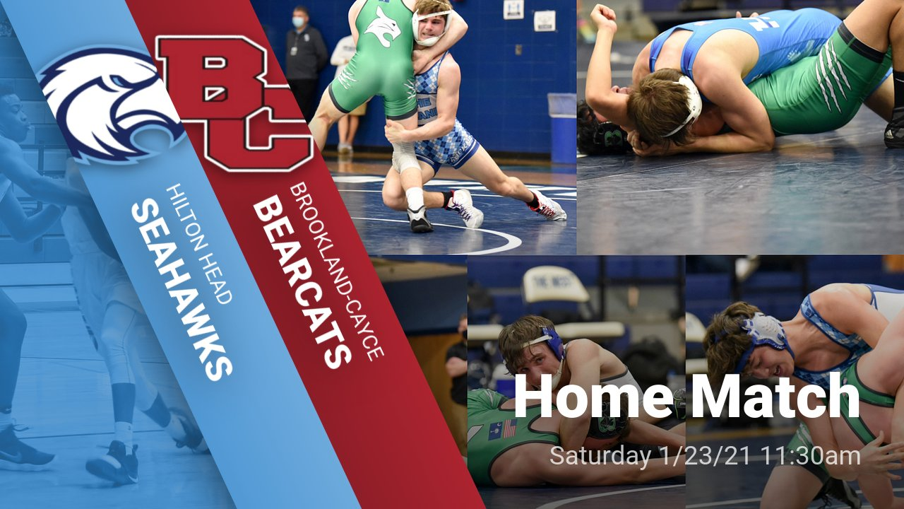 Ticket/Fan Information for Wrestling Match vs Brookland Cayce 1/23/21 @ 11:30am