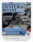 All Sports Booster Club Oyster Roast this Saturday 2-27-21 Tickets Still Available