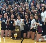 Volleyball Wins 20th State Title