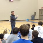 Cincinnati Bengals Strength and Conditioning Coach Visits Miamisburg