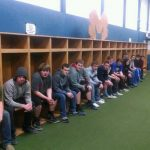 Baseball Hitting Barn Gets New Lockers
