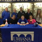Evan Berger signs with Urbana University