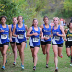 Girls Cross Country Pack Attack – 1st Place at District Meet