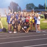 Girls Track & Field Take GWOC South Title