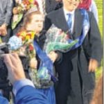 2015 Miamisburg Homecoming King and Queen