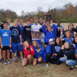 Boys Cross Country Team Finishes 2nd at Districts