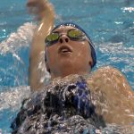 Miamisburg High School Girls Varsity Swimming beat Sidney High School 86-65