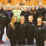 Miamisburg High School Girls Varsity Gymnastics finishes 6th place