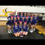 Miamisburg High School Girls Varsity Competitive Cheer finishes 1st place
