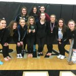 Miamisburg High School Girls Varsity Gymnastics finishes 7th place
