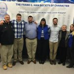 Zach Myers Inducted Into Frank G. Ham Society Of Character