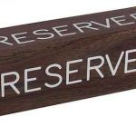 Reserved Seat Pick Up 8/15 @ Holland