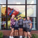 Miamisburg High School Girls Varsity Golf beat Troy High School 193-222