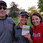 Miamisburg High School Girls Varsity Golf falls to Centerville High School 155-178