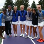 Girls Tennis Team Finishes 2nd in the Overall GWOC