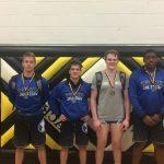 Miamisburg High School Boys Varsity Wrestling finishes 4th place