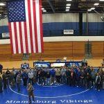 Miamisburg High School Boys Varsity Wrestling scores  points at meet