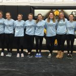 Miamisburg High School Girls Varsity Gymnastics finishes 4th place