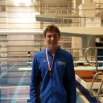 Kyle Campbell Headed to State Diving Meet