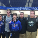 Miamisburg High School Boys Varsity Wrestling finishes 10th place