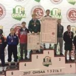 Perkins Finishes 6th at State Wrestling Championships