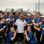 Miamisburg High School Varsity Softball beat Little Miami High School 5-0
