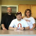 2015 Graduate – Grant Pittroff Signs NLI to Lourdes University