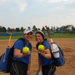 Miamisburg High School Varsity Softball beat Vandalia Butler 14-4