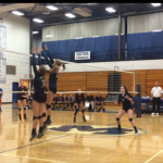 Miamisburg High School Girls Varsity Volleyball falls to Lebanon High School 3-2