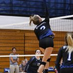 Miamisburg High School Girls Varsity Volleyball falls to vs Springboro HS 3-1