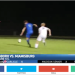 FOX 45 Clip on Last Night's Soccer Game