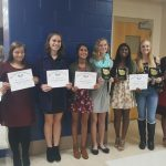 Lady Vikings Tennis Players Recognized at MVTCA All-Area Banquet