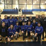 Boys Varsity Wrestling finishes 1st place at (Edgewood Invitational)