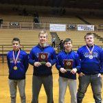 Boys Varsity Wrestling finishes 6th place at (GMVWA Tournament)