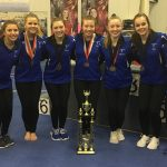 Girls Varsity Gymnastics finishes 1st place at (Northmont Invitational)