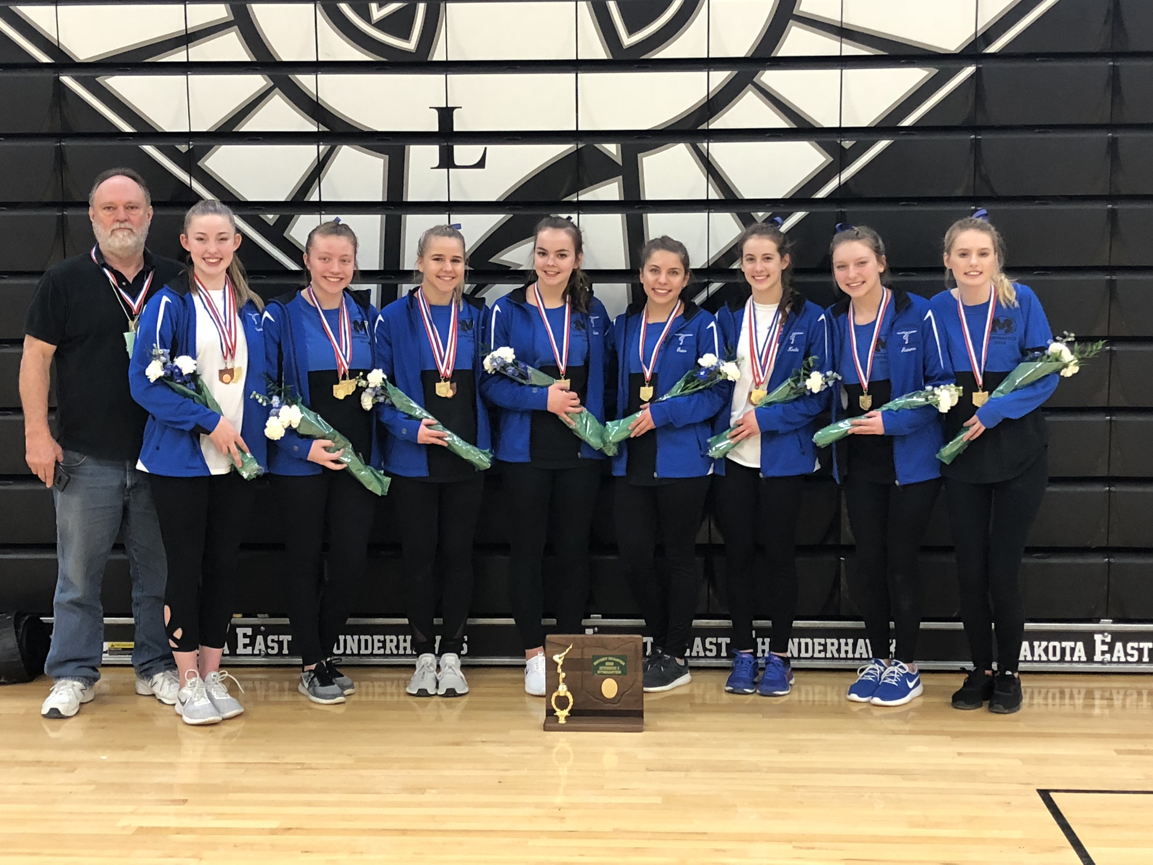 Gymnastics Finishes 10th at State Meet