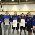 Boys Varsity Wrestling finishes 6th place at (OHSAA Sectionals)