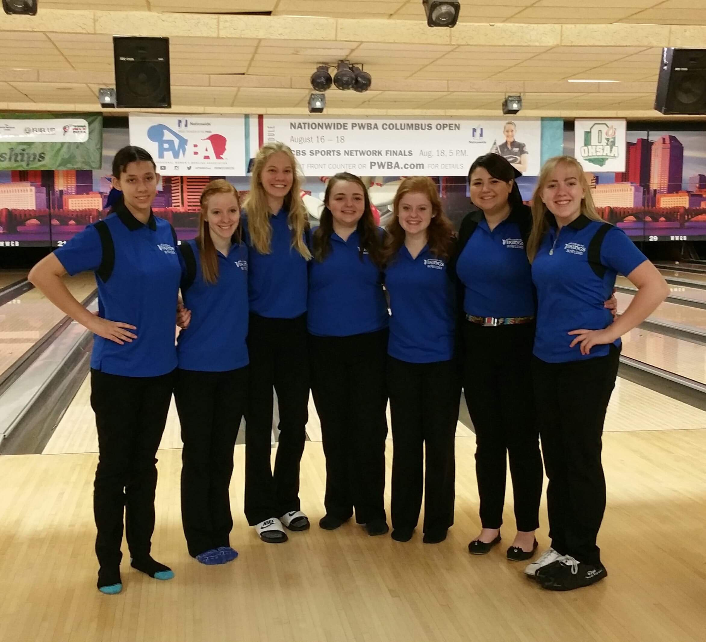 Lady Vikings Finish 7th at OHSAA State Bowling Tournament