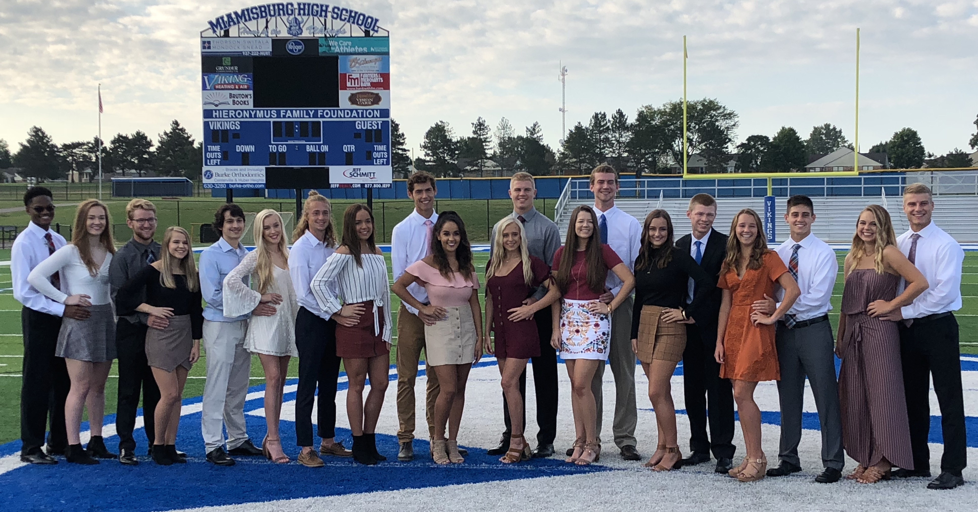 2018 MHS Homecoming Court