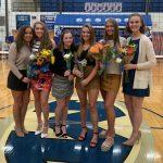 Viking Volleyball Finishes Regular Season at 17-5 with Win on Senior Night