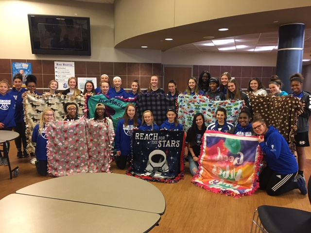 Girls Basketball Blankets with Jenna Parlette Memorial Foundation