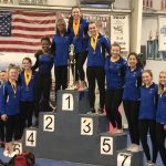 Miamisburg Varsity Gymnasts Place First at Northmont Invitational
