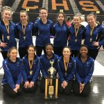 Miamisburg Gymnastics Team Finishes 1st at Elk Invitational
