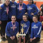 Miamisburg Gymnastics Team finishes 3rd at Anderson Invitational