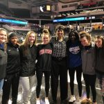 Lady Vikings Visit UC