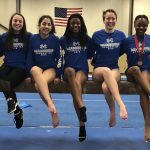 Miamisburg Freshman Gymnasts Compete in Miamisburg Quad Meet