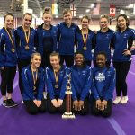Miamisburg Varsity Gymnastics Team Finishes 1st at Turpin Invitational